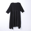 Women Spring Casual Solid Pullover Loose Short Sleeve Dress