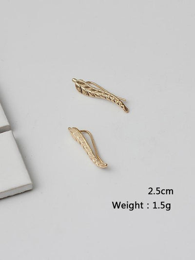 Leaf Pattern Earring Accessories