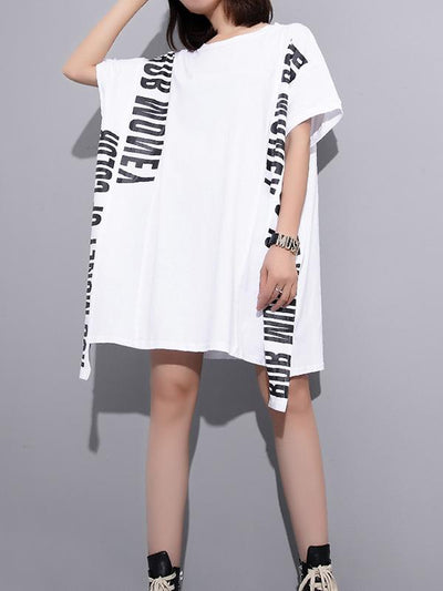 Super Casual Letter Printed T-shirt
