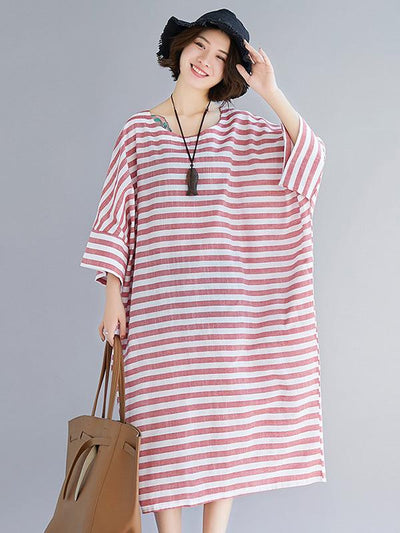Original Oversize Striped Dress