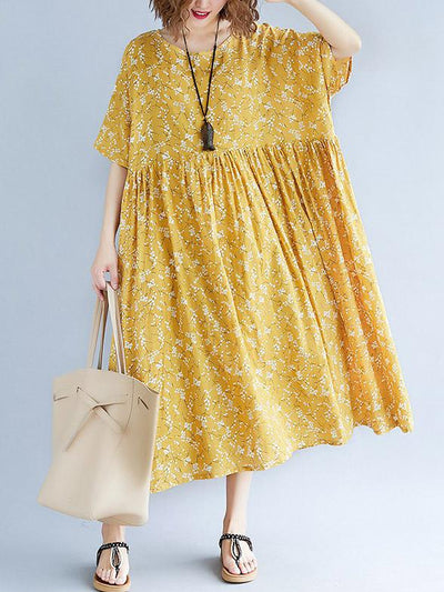 2019 Summer New Loose Printed Dress