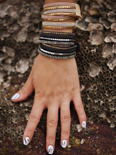 Punk Multilayer 2 Colors Bracelet Accessories