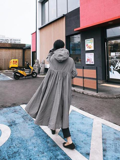SUPER LOOSE CHIC FOLD LONG OUTWEAR