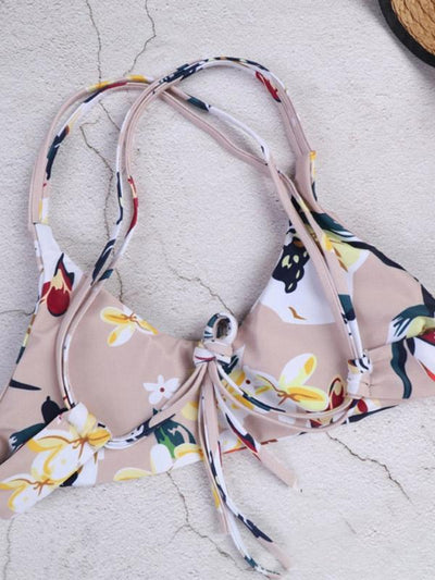 Fashion Adjustable Digital Printed Bikinis Swimwear