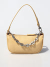 Casual Solid Chain Simpel Shoulder Bag