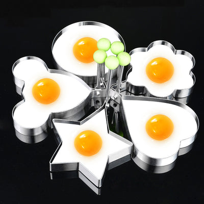Omelette Stainless Fried Egg Frying Mold Kitchen Gadgets