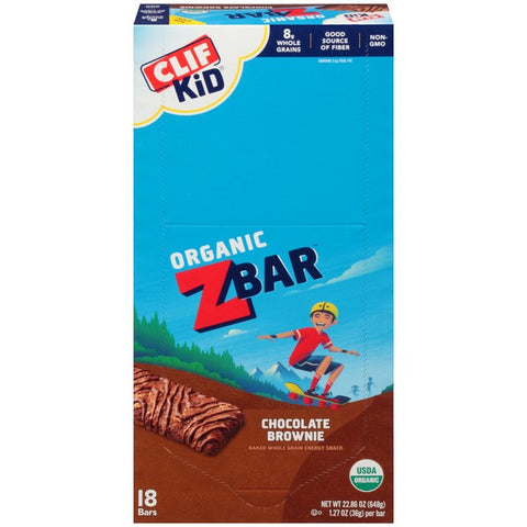 Clif Kid® Organic ZBar Chocolate Brownie Energy Snack