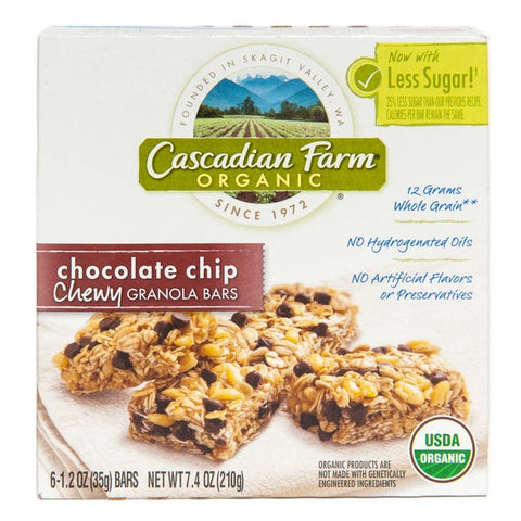 Cascadian Farm Cascadian Farm Choc Chip Granola Bar