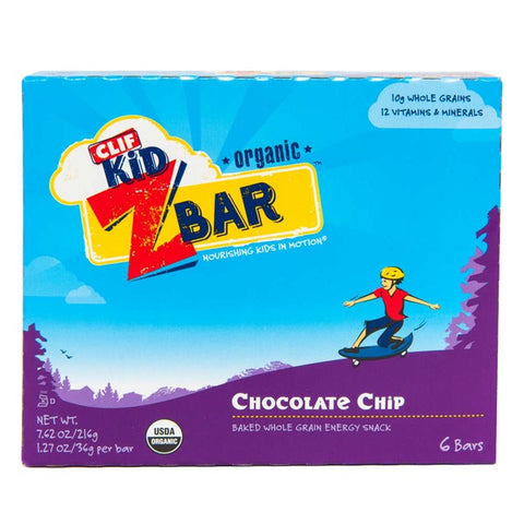 Clif Kid® Organic ZBar Chocolate Chip Energy Snack