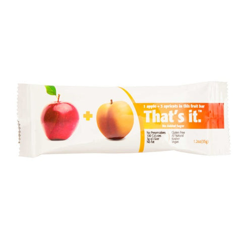 Thats It. Apple & Apricot Fruit Bar
