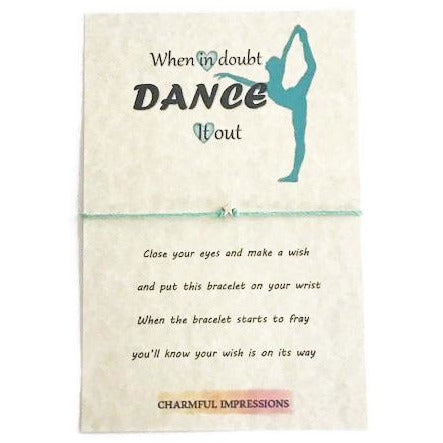 Dance wish bracelet - charmful impressions