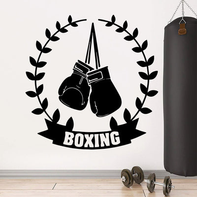 Boxing Wall Stickers