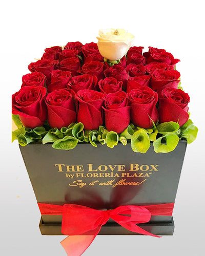 The Love Box Rosas Rojas
