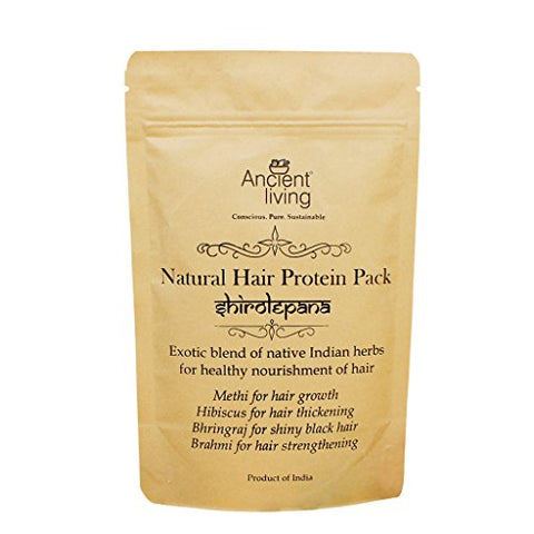 Ancient Living Natural Hair Protein Pack Healthy Strong Hair - Pouch 200 grams