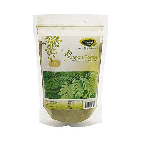 Thanjai Natural and Organic Traditional Albizia Amara/Arappu Powder 500 g