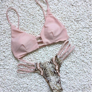 The Alba Swimsuit Pink / S Swimsuit