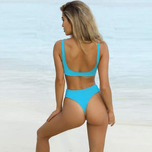 The Gwen Swimsuit Blue / L Swimsuit