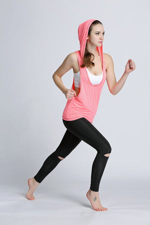 The Sara Hooded Sports Top