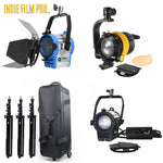 20W LED Spot Light + 50W LED Spot Light +  As ARRI 300W Tungsten Fresnel Light Kit