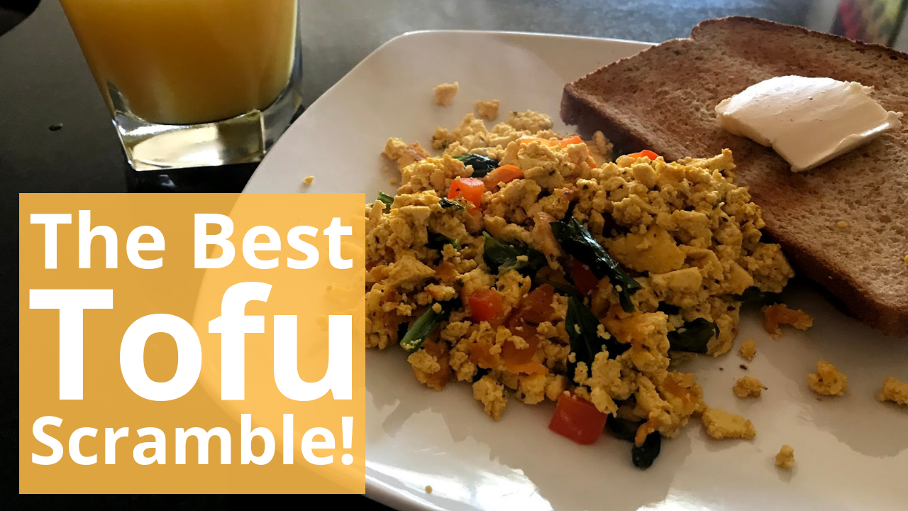 Start Your Day Off With Tofu Scramble