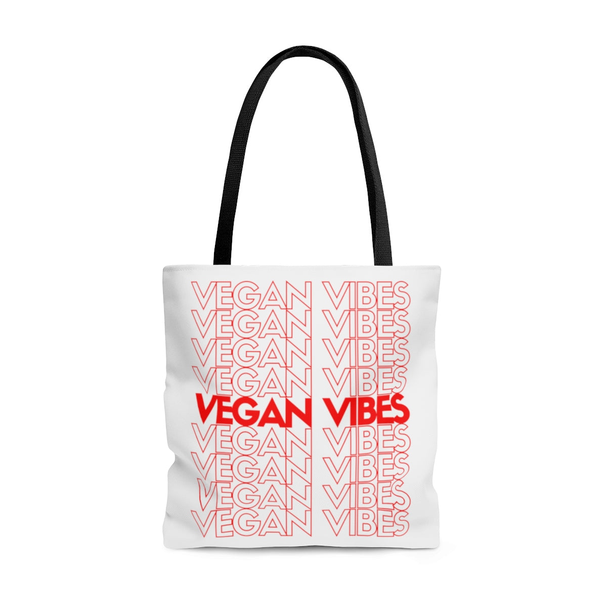 Vegan Vibes Reusable Tote Bag