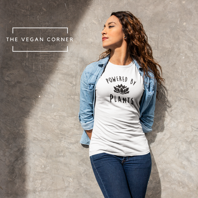 Powered By Plants Women's Tee