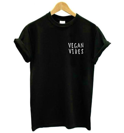 Vegan Vibes Pocket Unisex Shirt