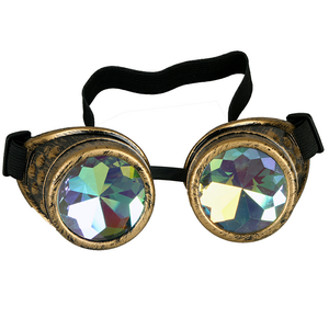 Vintage Colorful Goggles Glasses