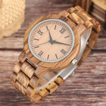 Nature Wood Bamboo Watch