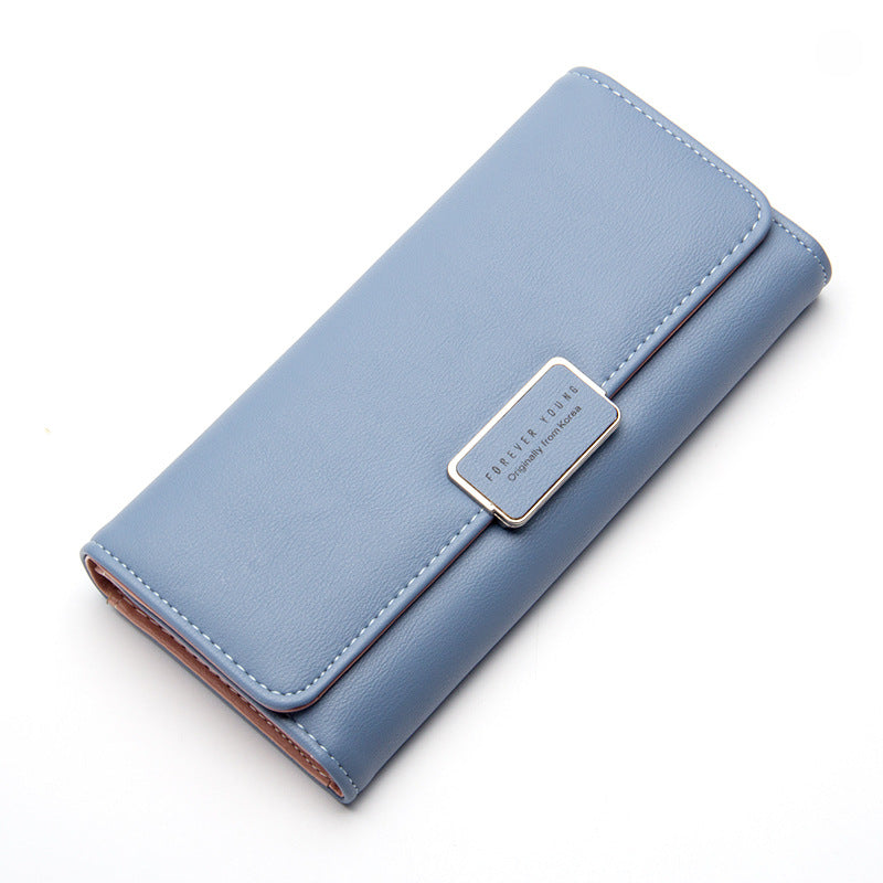 Long Leather Women Wallet