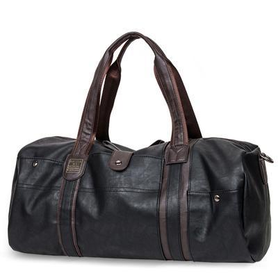 Leather Barrel Handbag