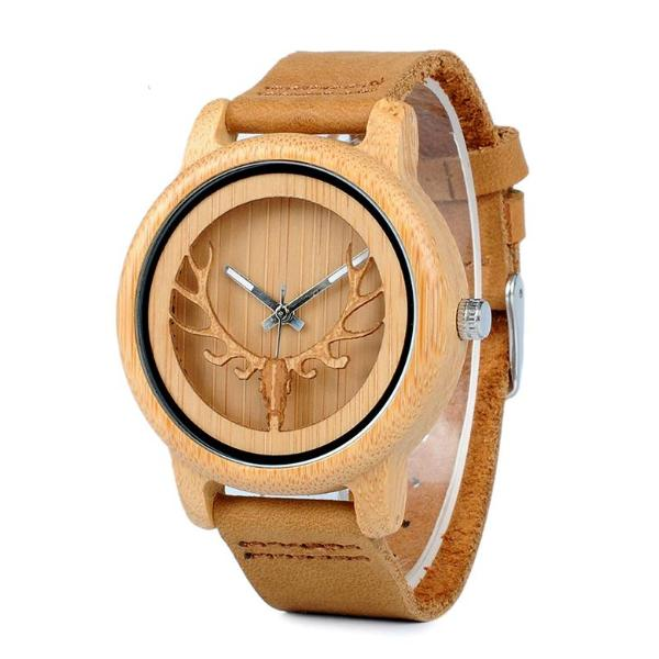 Wood Casual Watch