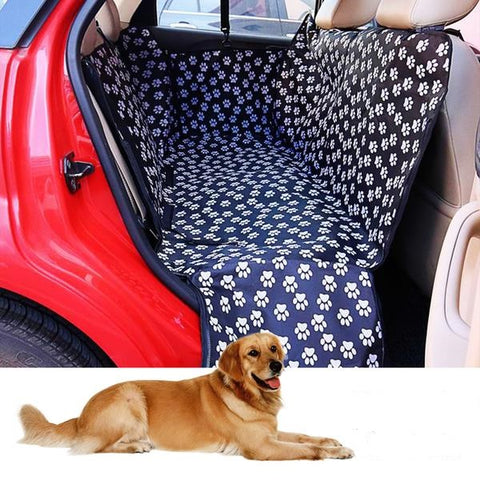 Luxury Waterproof Dog Car Seat Cover Hammock with Zipper And Side Flaps - Common Bunny