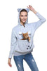 Kangaroo Hoodie™ For Animal Lovers - Common Bunny
