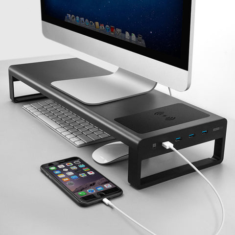 Smart Base 2.0™ - Aluminum Alloy Base Stand with USB 3.0 Ports