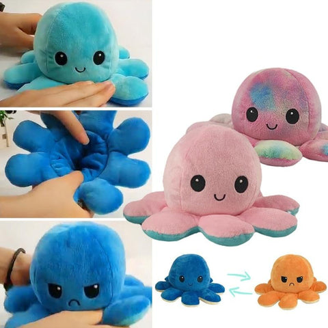 OctoPlush™ (Reversible Stuffed Plush Toy) - Common Bunny