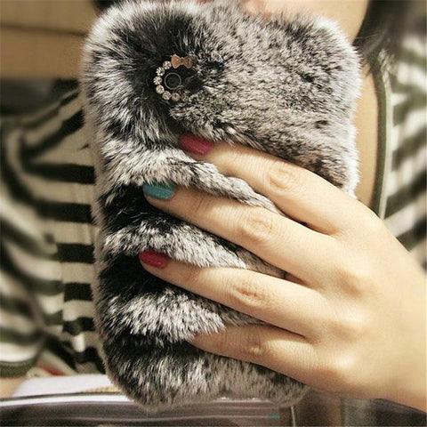 Bunny Fur Case for iPhone