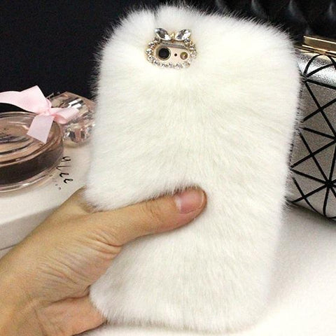 Bunny Fur Case for iPhone - Common Bunny