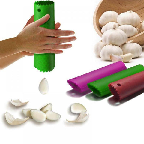 Easy Garlic Peeler