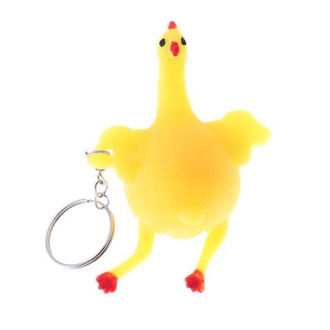 Funny Egg Laying Chicken Stress Buster Toy