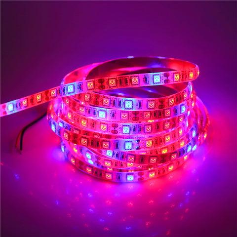 Full-Spectrum Hydroponics Waterproof LED Grow Strip