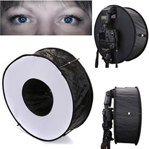 Professional Speedlite Softbox Ring Reflector - Common Bunny