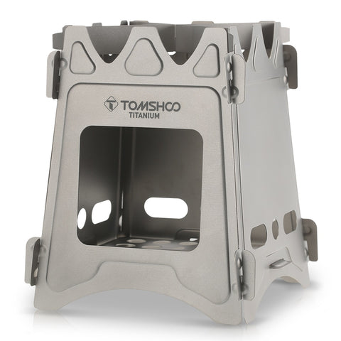 Ultralight Titanium Wood Burner Camping Stove - Common Bunny