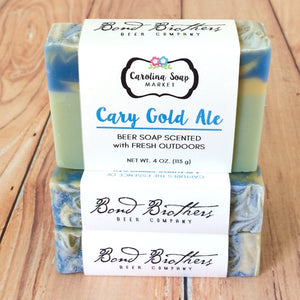 Cary Gold Beer Soap
