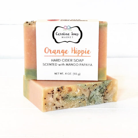ORANGE HIPPIE CIDER SOAP - Carolina Soap Market