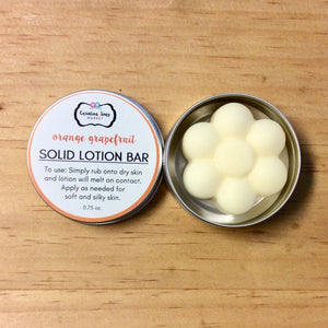 ORANGE GRAPEFRUIT LOTION BAR - Carolina Soap Market