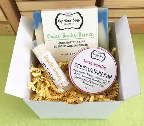 SMALL BOX GIFT SET - Carolina Soap Market