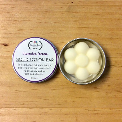 LAVENDER LEMON LOTION BAR - Carolina Soap Market