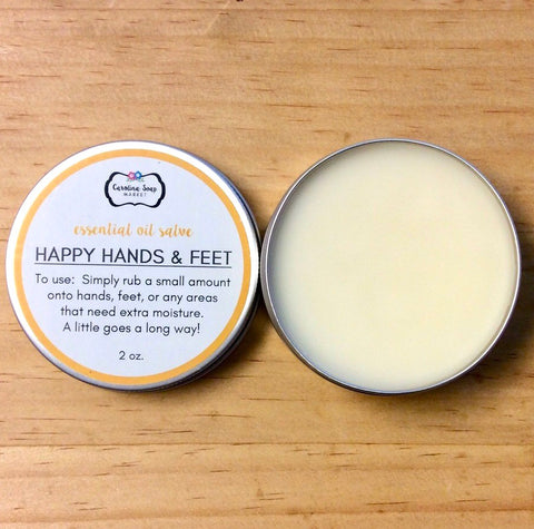 HAPPY HANDS AND FEET SALVE - Carolina Soap Market