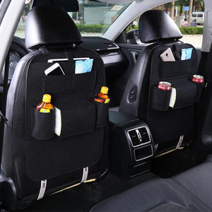 Car Back Seat Multi-Pocket Storage